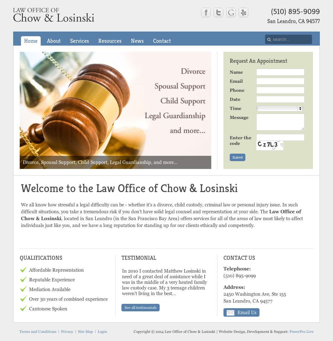 chow-losinski-website