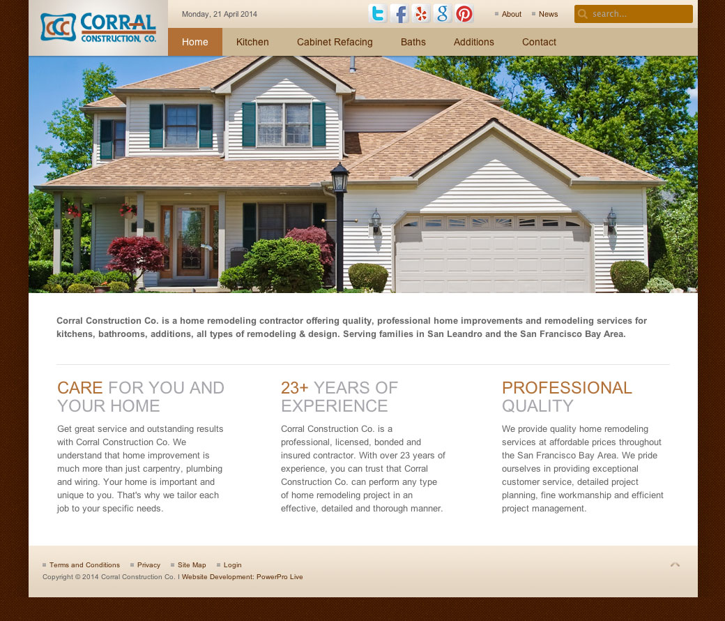 corral-construction-website