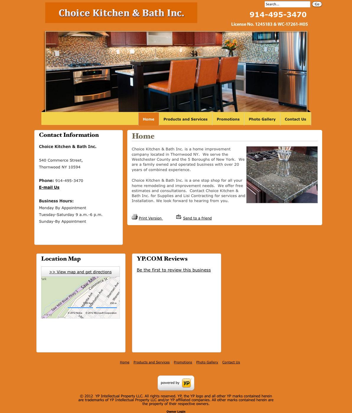 Kitchen Bath Contractor Websites Web Design Bay Area SEO