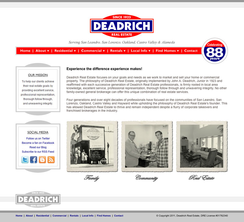 deadrich-real-estate-website-old
