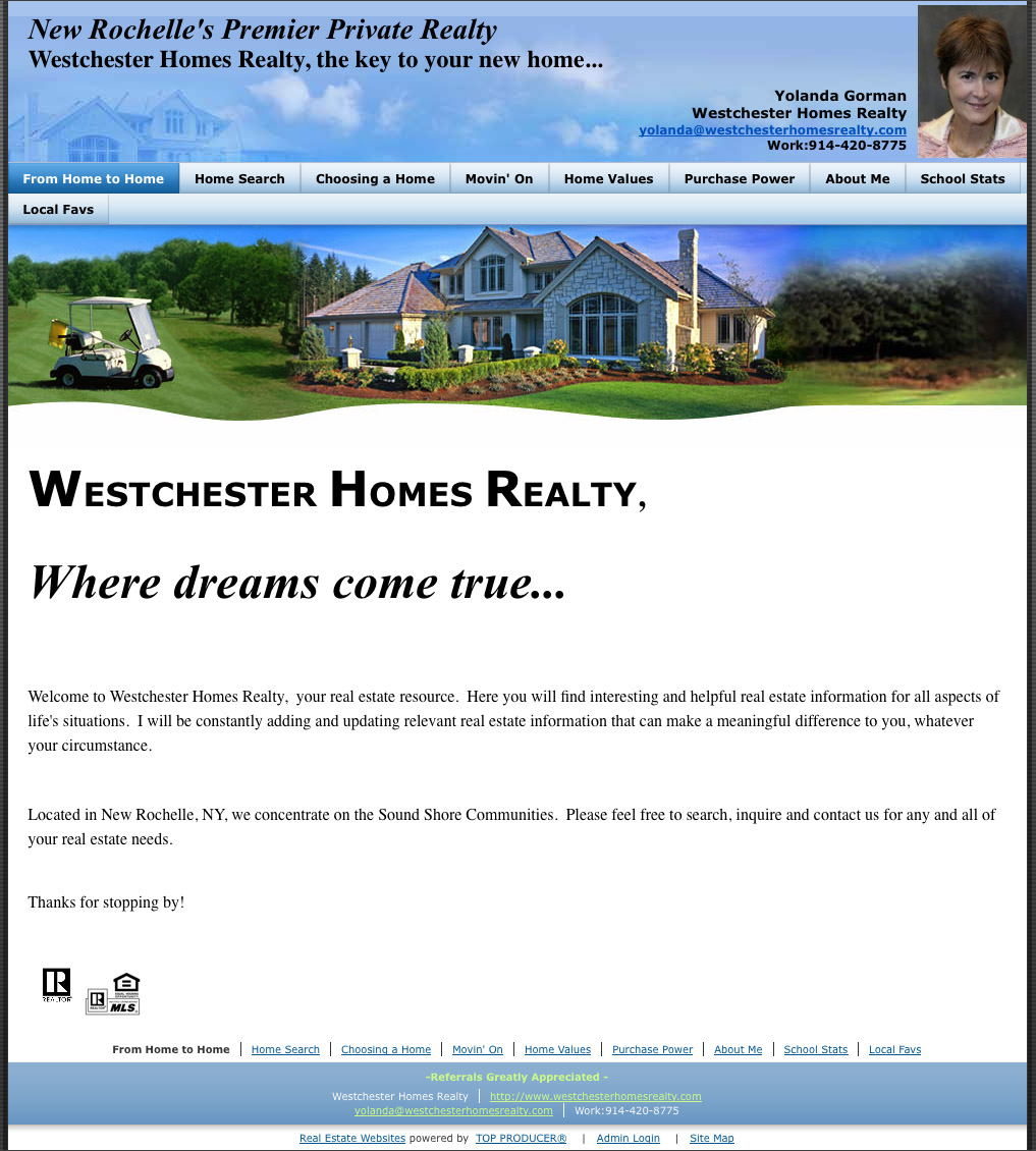 westchester-homes-realty-website-old