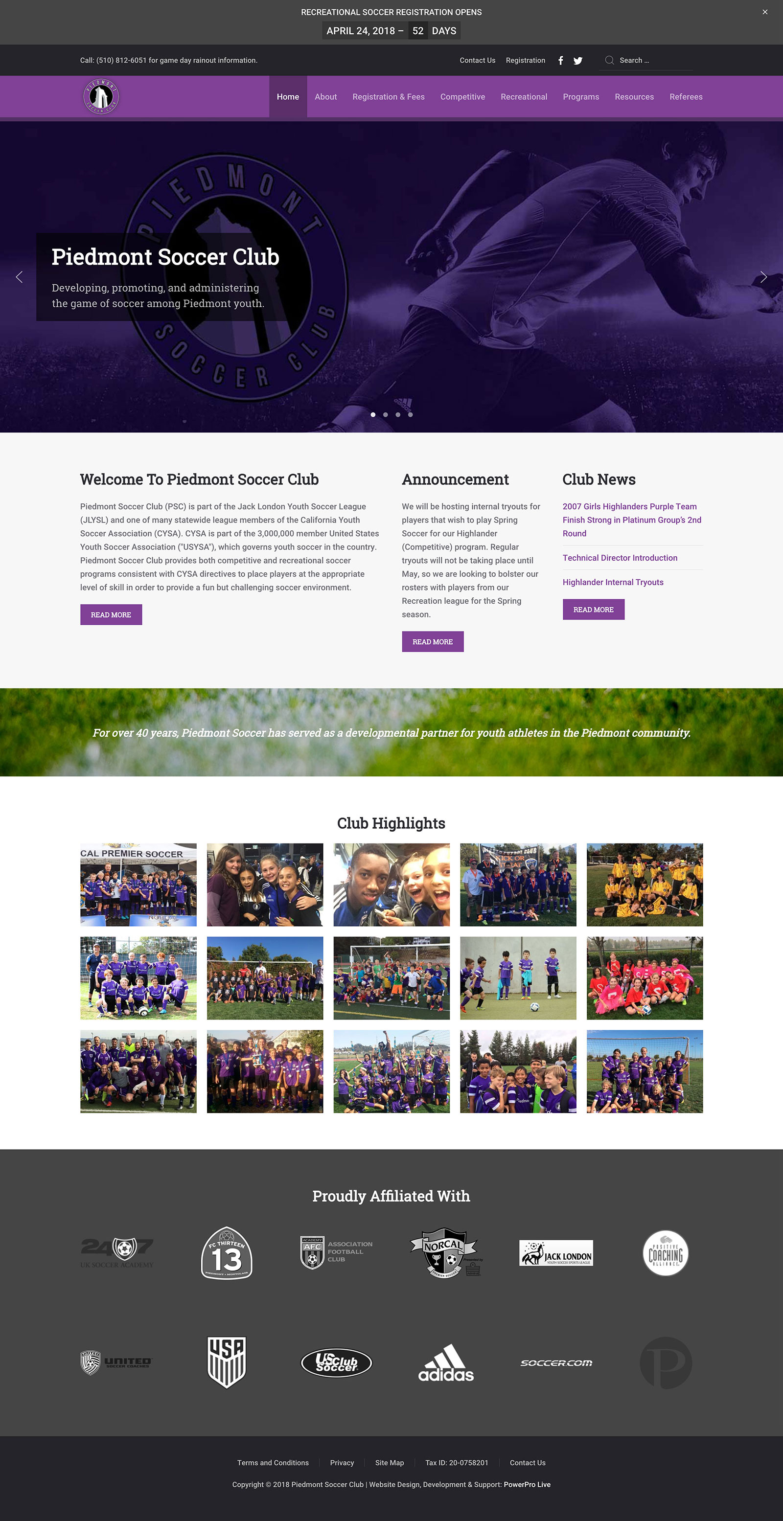 piedmont-soccer-club-website
