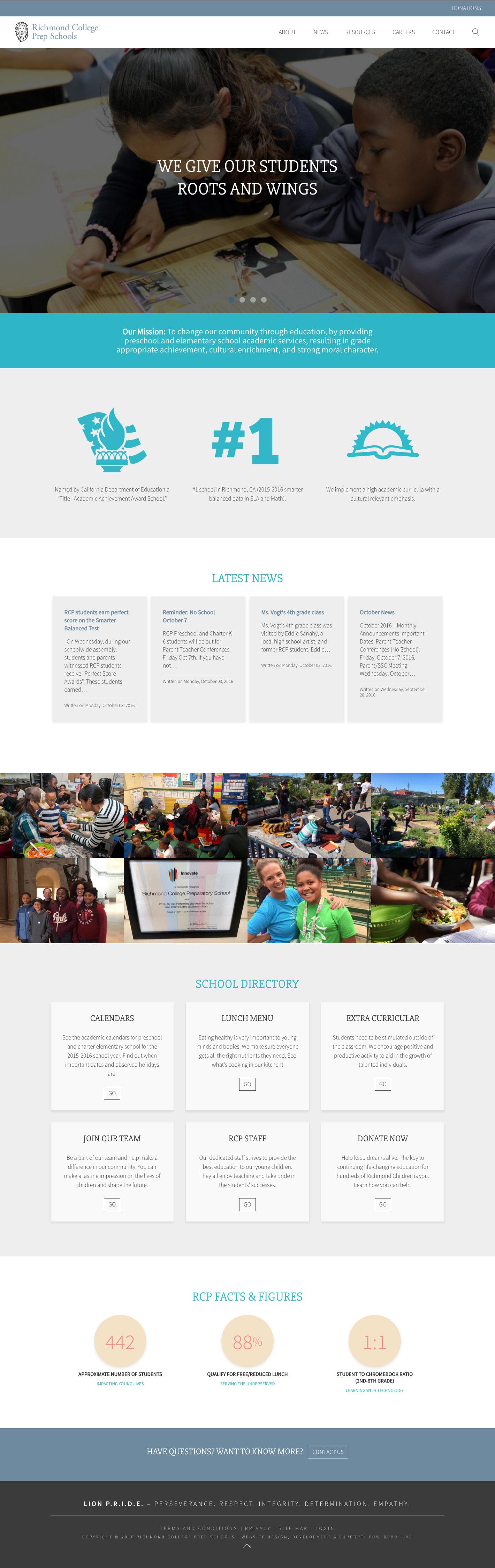richmond-college-prep-schools-website