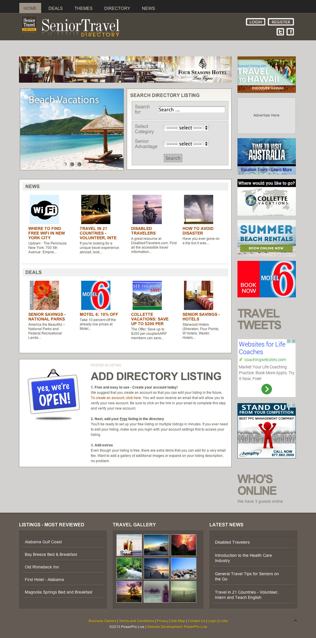 senior-travel-directory-website