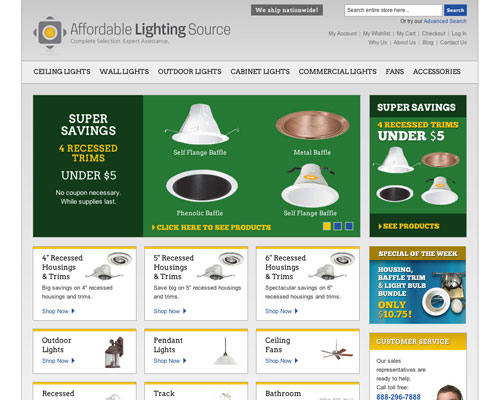 Affordable Lighting Source