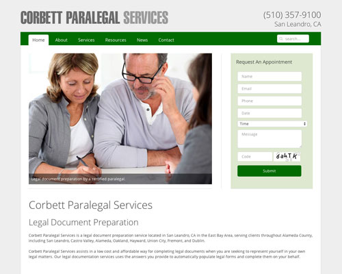 Corbett Paralegal Services