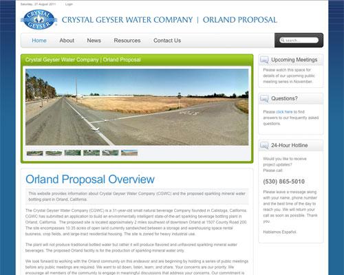 Crystal Geyser Water Company - Orland