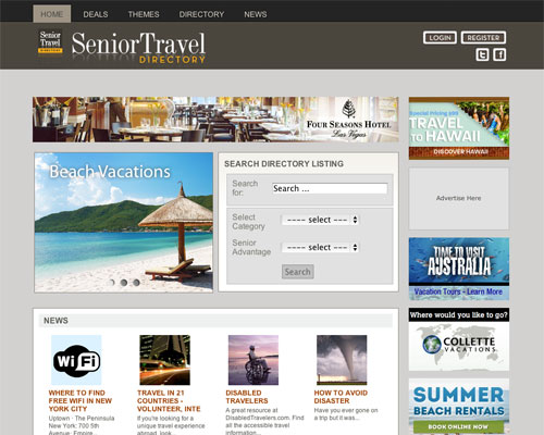 Senior Travel Directory