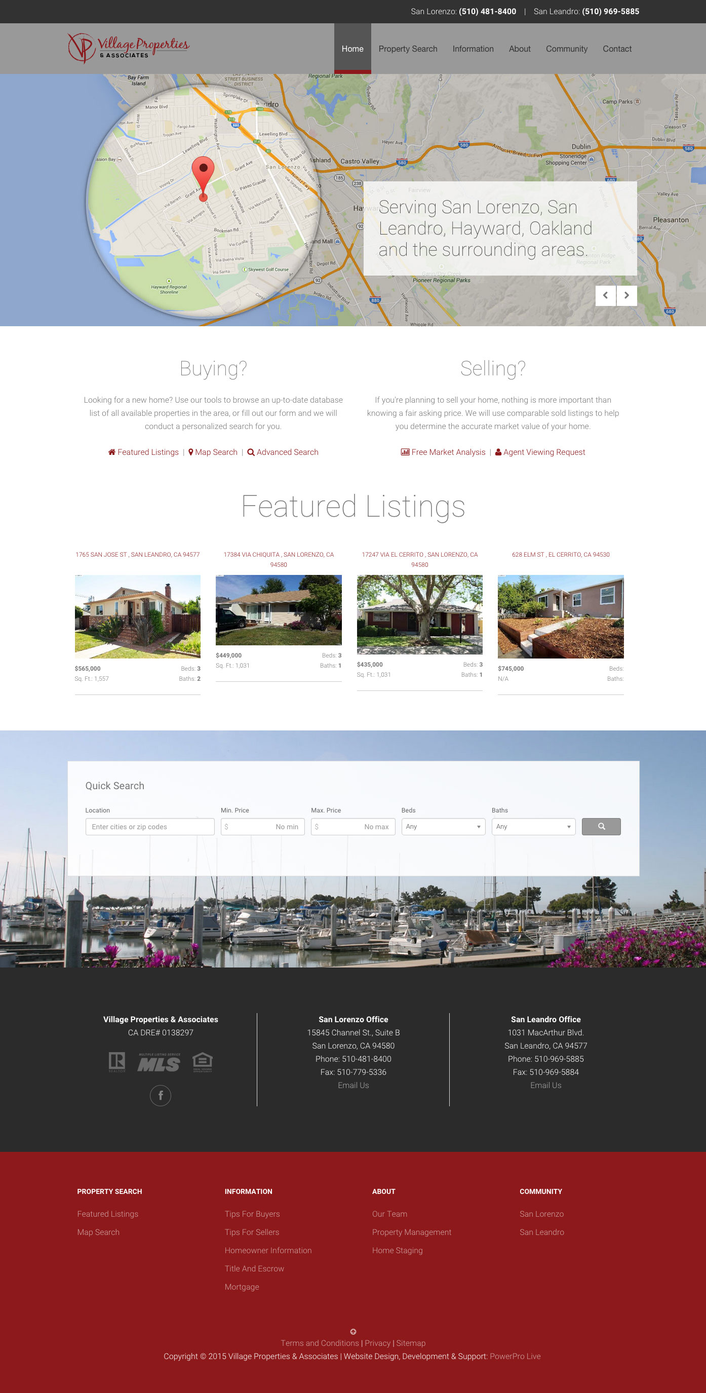 village-properties-website