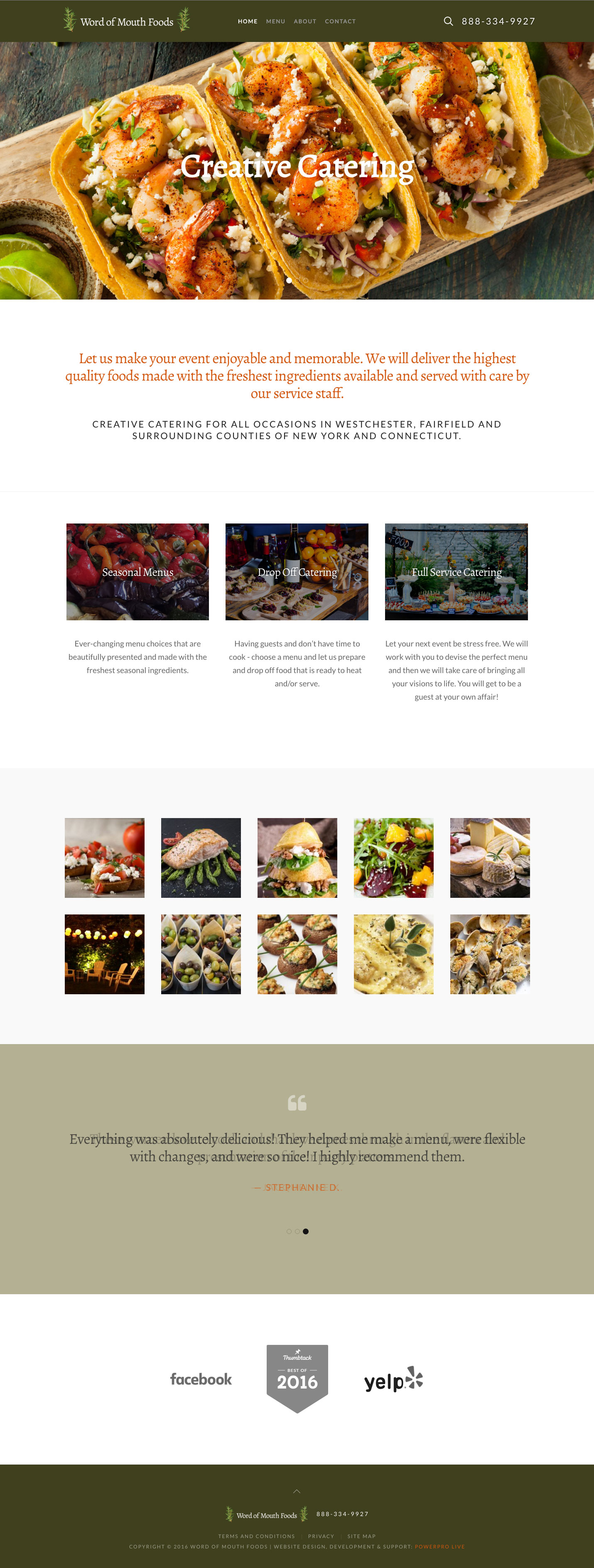 word-of-mouth-foods-website