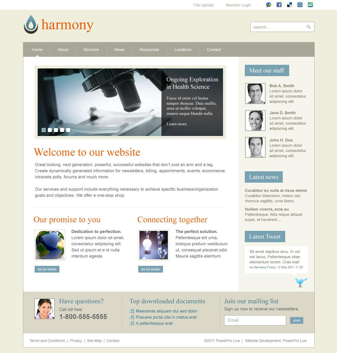 theme-harmony