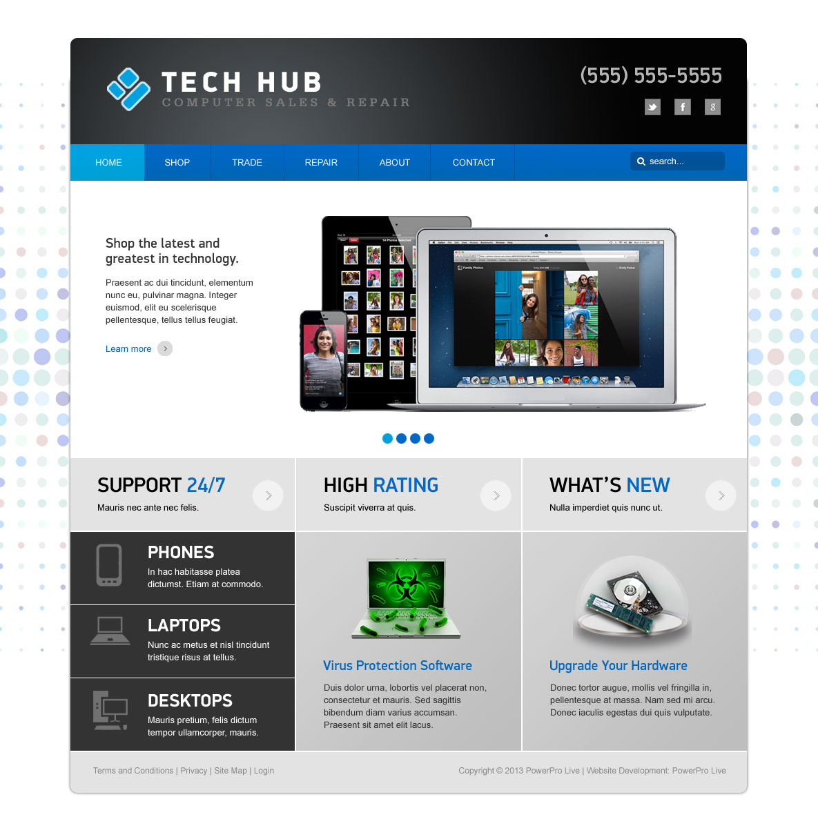 theme-techhub