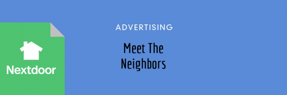 Meet The Neighbors At Nextdoor