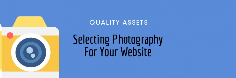 Selecting Photography For Your Website